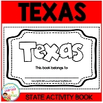 TEXAS State Activity Book ~Digital Download~