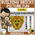 Building Bricks Picture Fun: Animals ~Digital Download~