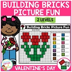 Building Bricks Picture Fun: Valentine's Day ~Digital Download~