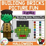 Building Bricks Picture Fun: Halloween ~Digital Download~