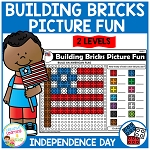 Building Bricks Picture Fun: Independence Day ~Digital Download~