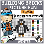 Building Bricks Picture Fun: Winter ~Digital Download~