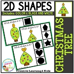Shape Clip Cards: Christmas Tree ~Digital Download~