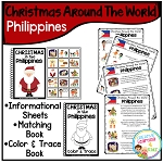Christmas Around the World Books Set 2: Philippines ~Digital Download~