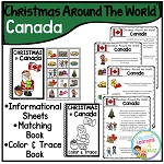 Christmas Around the World Books Set 2: Canada ~Digital Download~