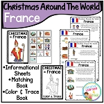 Christmas Around the World Books Set 2: France ~Digital Download~