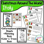 Christmas Around the World Books Set 2: Italy ~Digital  Download~