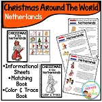Christmas Around the World Books Set #2: Netherlands ~Digital Download~