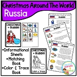 Christmas Around the World Books Set 2 Russia ~Digital Download~