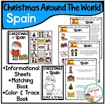 Christmas Around the World Books Set 2: Spain ~Digital Download~