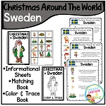 Christmas Around the World Books Set 2: Sweden ~Digital Download~
