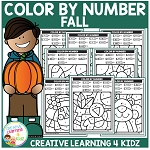 Color By Number: Fall ~Digital Download~