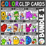 Color Clip Cards: Bundle 1 ~Digital Download~
