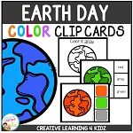 Color Clip Cards: Earth Day ~Digital Download~