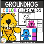 Color Clip Cards: Groundhog Day ~Digital Download~