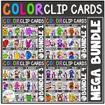 Color Clip Cards: MEGA Bundle ~Digital Download~