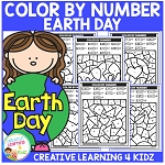 Color By Number: Earth Day ~Digital Download~