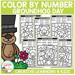 Color By Number: Groundhog Day ~Digital Download~