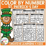 Color By Number: St. Patrick's Day ~Digital Download~