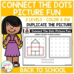 Connect the Dots Picture Fun - Back to School ~Digital Download~