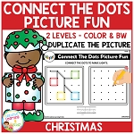 Connect the Dots Picture Fun - Christmas ~Digital Download~