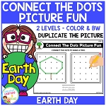 Connect the Dots Picture Fun - Earth Day ~Digital Download~