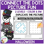 Connect the Dots Picture Fun - Halloween ~Digital Download~