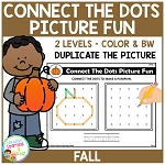 Connect the Dots Picture Fun - Fall ~Digital Download~