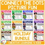 Connect the Dots Picture Fun - Holiday Bundle ~Digital Download~