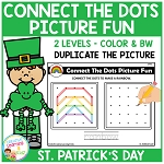 Connect the Dots Picture Fun - St. Patrick's Day ~Digital Download~