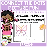 Connect the Dots Picture Fun - Spring ~Digital Download~