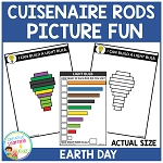 Cuisenaire Rods Picture Fun: Earth Day ~Digital Download~