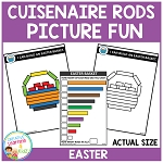 Cuisenaire Rods Picture Fun: Easter ~Digital Download~