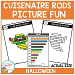 Cuisenaire Rods Picture Fun: Halloween ~Digital Download~