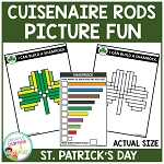 Cuisenaire Rods Picture Fun: St. Patrick's Day ~Digital Download~