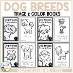 Trace & Color Books: Dog Breeds ~Digital Download~