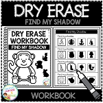 Dry Erase Workbook: Find My Shadow ~Digital Download~