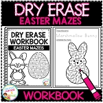 Dry Erase Workbook: Easter Mazes ~Digital Download~