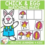 Chick and Egg Matching Mats ~Digital Download~