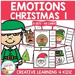 Emotions Clip Cards - Christmas 1 ~Digital Download~