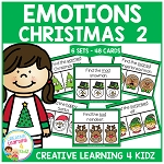 Emotions Clip Cards - Christmas 2 ~Digital Download~