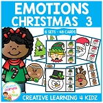 Emotions Clip Cards - Christmas 3 ~Digital Download~