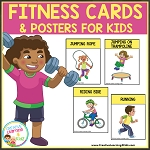 Fitness Cards & Posters for Kids ~Digital Download~