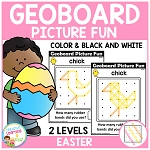 Geoboard Picture Fun: Easter ~Digital Download~