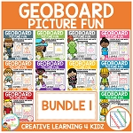 Geoboard Picture Fun: Bundle 1 ~Digital Download~