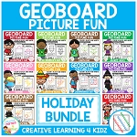 Geoboard Picture Fun: Holiday Bundle ~Digital Download~
