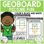 Geoboard Picture Fun: St. Patrick's Day ~Digital Download~
