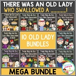 There Was an Old Lady Who Swallowed a ___! Mega Bundle ~Digital Download~