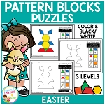 Pattern Block Puzzles: Easter ~Digital Download~