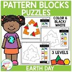 Pattern Block Puzzles: Earth Day ~Digital Download~